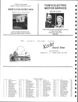 Township Owners Eau Galle Directory, St. Croix County 1987